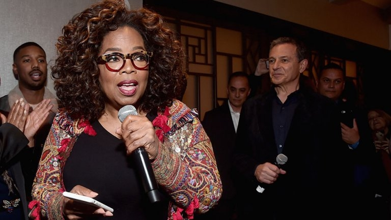 "Oscars: Oprah Winfrey Endorses 'Black Panther,' Calling It ""Something Bigger Than a Movie"""