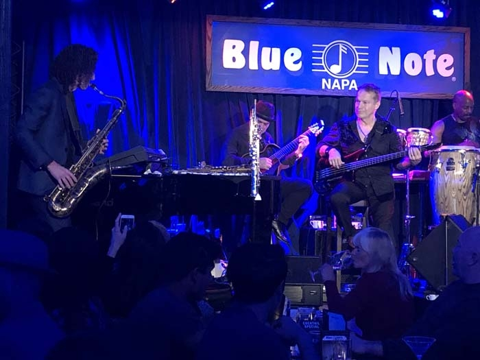 HUB REVIEW:  A Night In Napa With Kenny G and Hibiscus Paloma