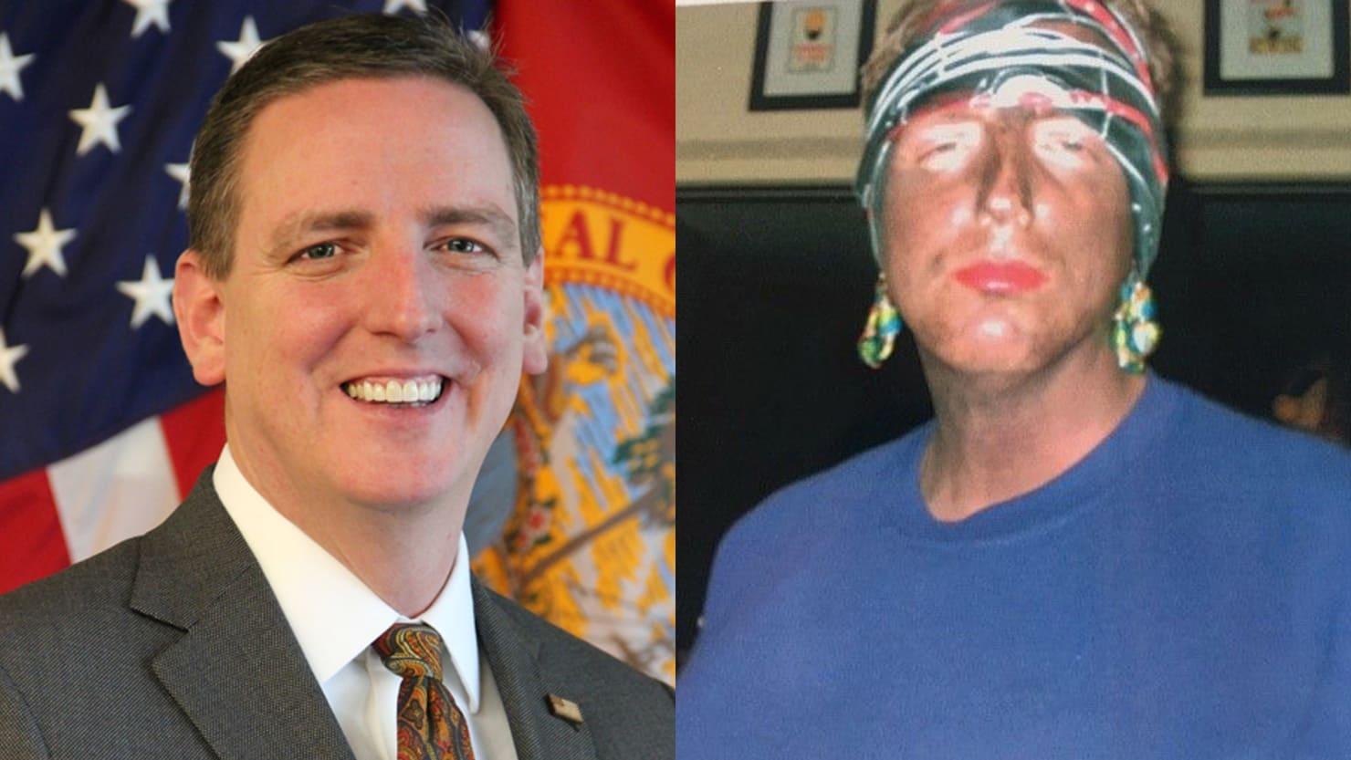 Florida secretary of state resigns after blackface photos emerge