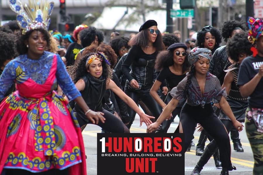HUNDREDS UNIT Wins Best Overall Cash Award of $2500 at BLACK JOY PARADE