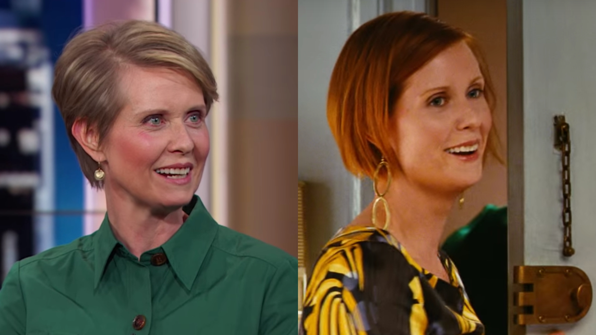 Cynthia Nixon calls out 'Sex and the City' white feminism issues