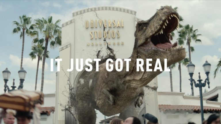 Jurassic World The Ride – It Just Got Real