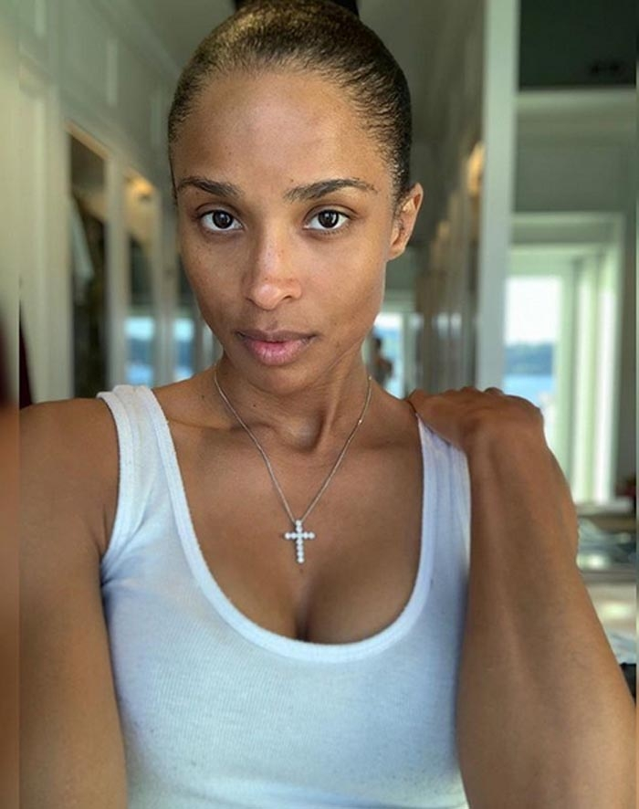 Ciara Goes Makeup Free Without Hair Extensions As She Embraces The 'Real' Her: 'It Feels Good'