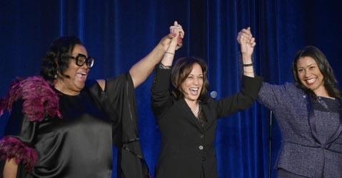 Sen. Kamala Harris Gives Props to Black Press at 75th Anniversary of San Francisco Sun-Reporter