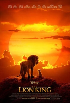 Disney's The Lion King Opening July 19th
