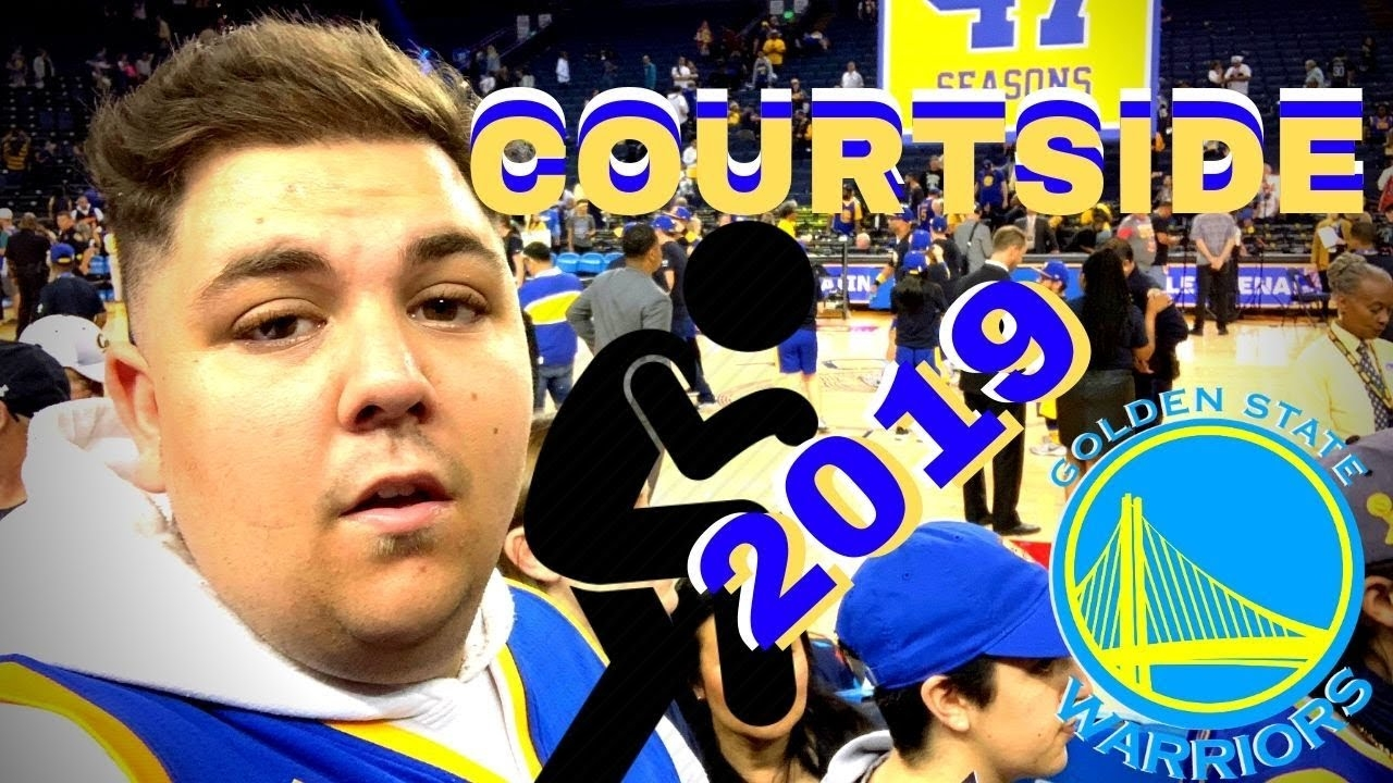 Warriors fan had perfect scheme for courtside seats