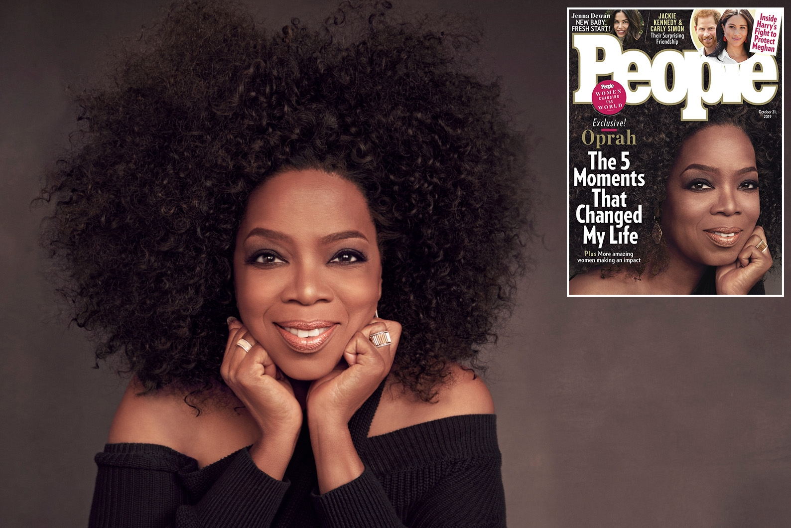 Oprah Winfrey on Five Moments That Changed Her Life