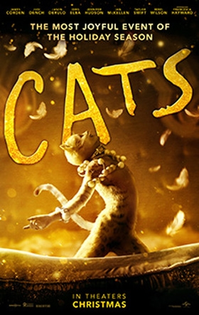 Cats, opening December 20th