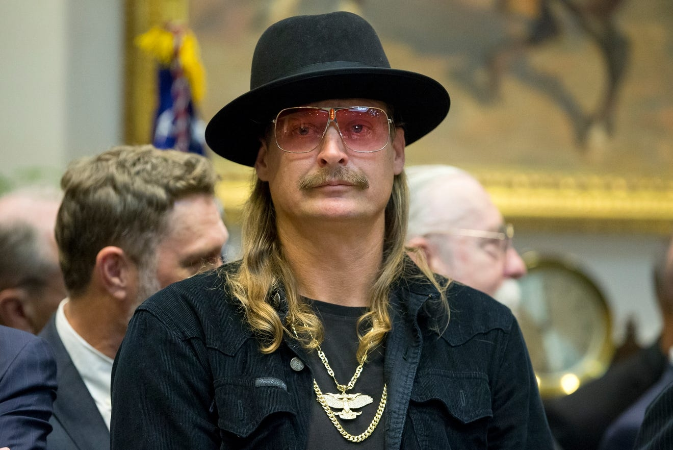 Kid Rock unleashes profanity-filled stage tirade against Oprah, follows up with tweet