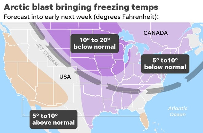 Chilly down to the Gulf of Mexico: What you should know about the arctic blast