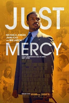 Just Mercy starring Michael B. Jordan