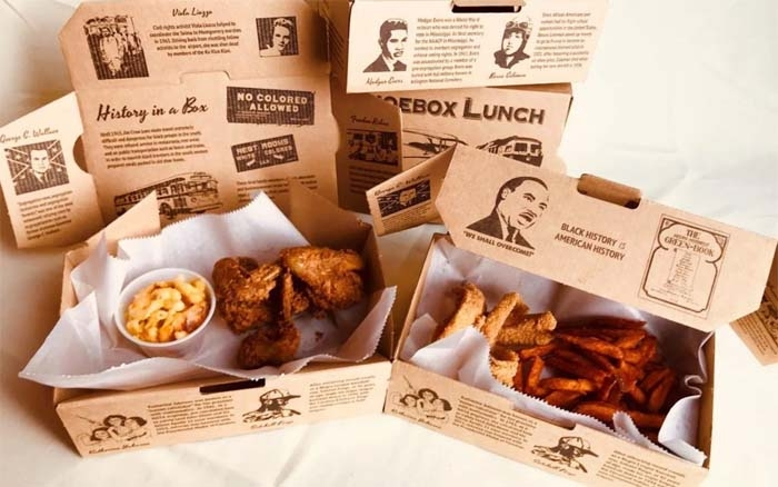 """This Soul Food Restaurant is Serving Lessons In Black History With """"Shoebox Lunches"""""""