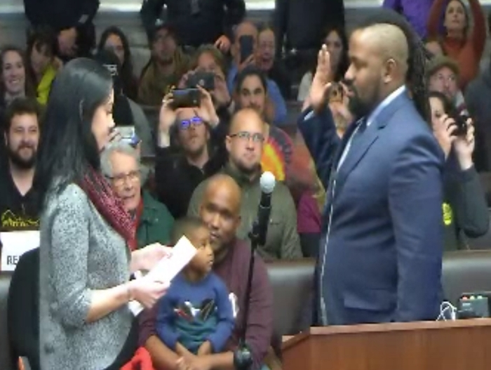 First African American Man To Serve As Santa Cruz Mayor Sworn In