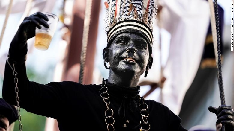 One of the world's most diverse countries has a blackface problem