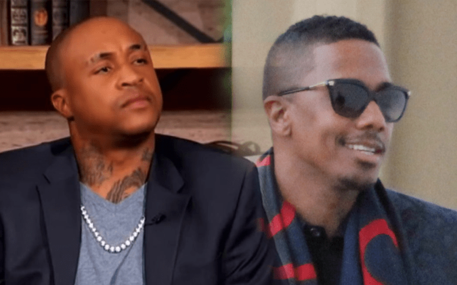Video: Orlando Brown Claims Nick Cannon Once Gave Him Dome Dressed As A Woman