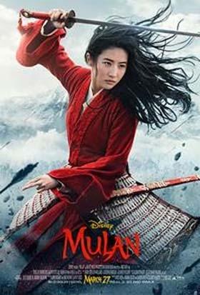 Disney's Mulan, Opening March 27, 2020