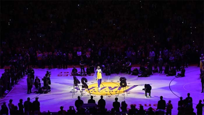 The Night Staples Center Let Its Guard Down
