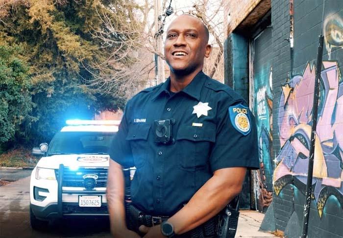Grammy-nominated Sacramento officer raps for department's recruitment video