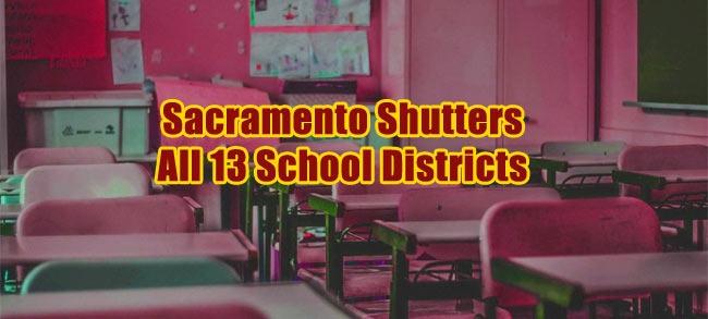 Sacramento School Districts Closing due to Coronavirus