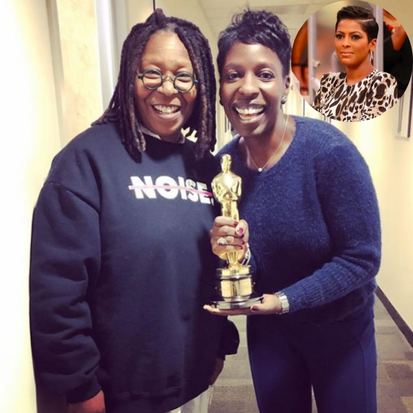 """""""The View's"""" 1st African-American Executive Producer Leaving For """"The Tamron Hall Show"""""""