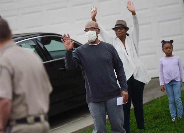 Suisun man returns home to fanfare after surviving Covid-19