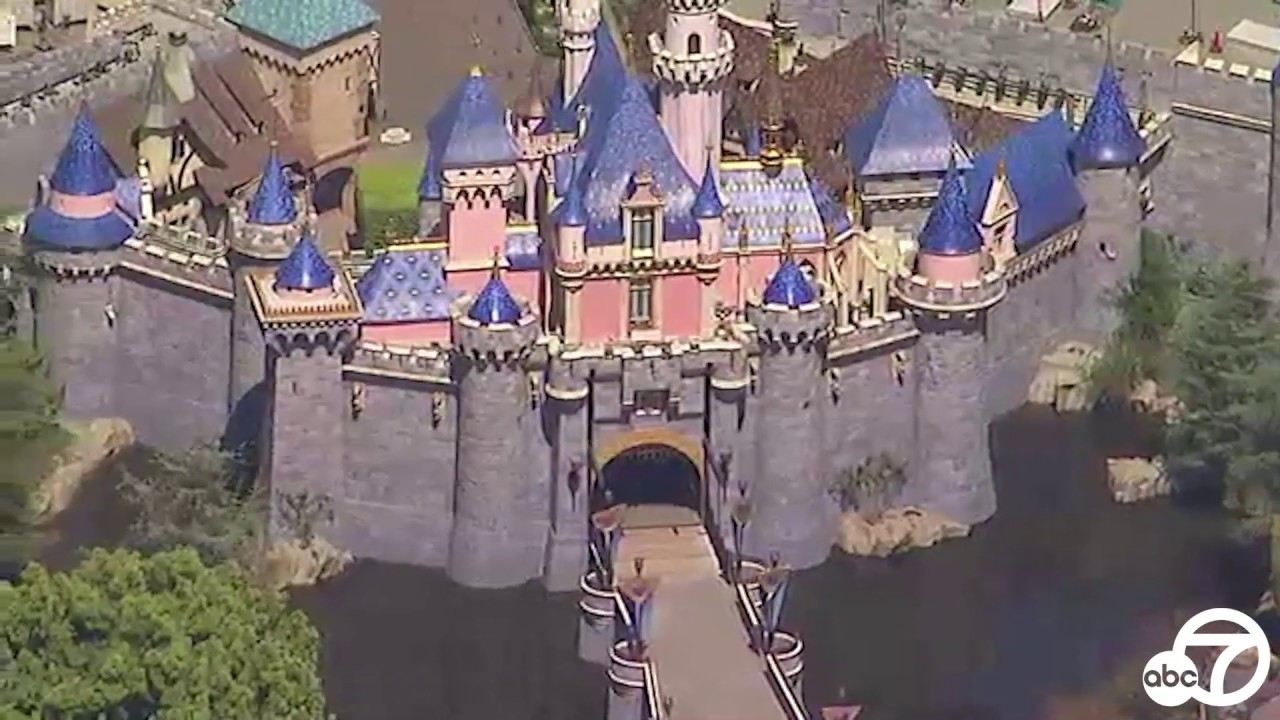 This Aerial Footage Shows What Disneyland Looks Like Totally Empty