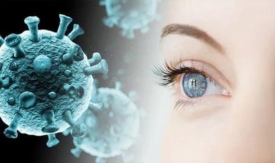 The human eye is 'susceptible' to coronavirus infection, new study warns