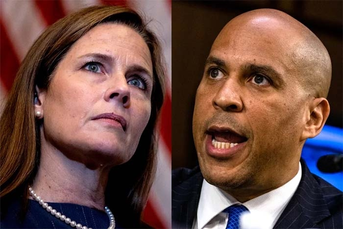 Cory Booker Called Amy Coney Barrett's Bluff on Racism