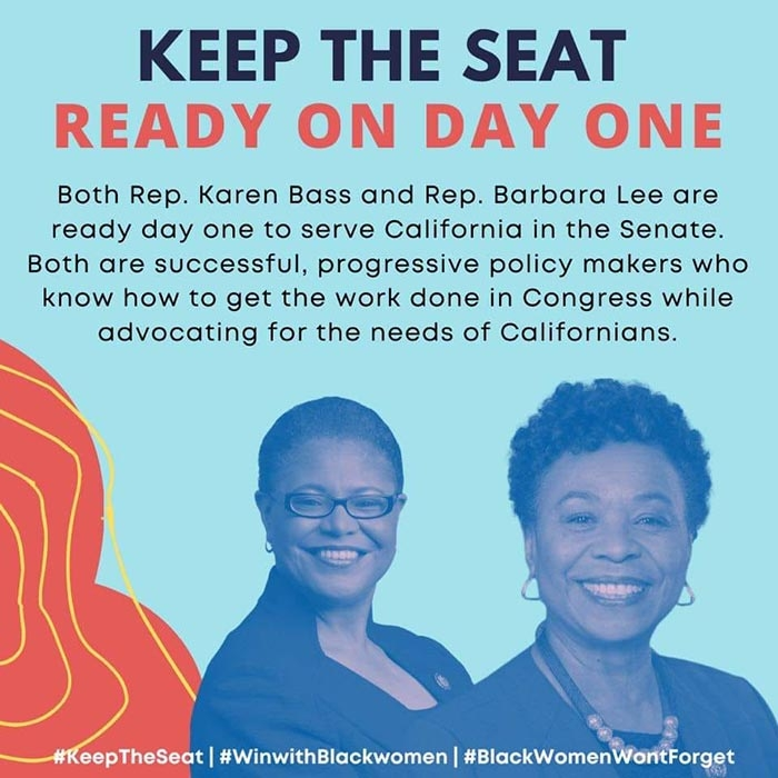 Women Leaders to Governor Newsom: Representation Matters in Senate Seat Selection