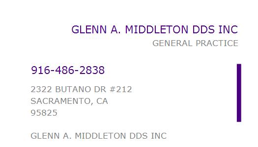 Glenn Middleton, D.D.S.
