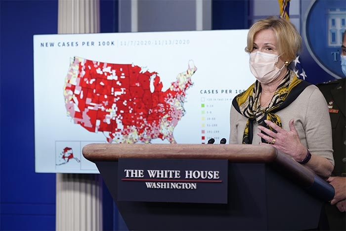 Birx: Winter coronavirus surge is the 'worst event that this country will face'