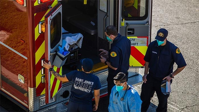 Los Angeles County ambulance crews are told not to transport Covid-19 patients with little chance of survival