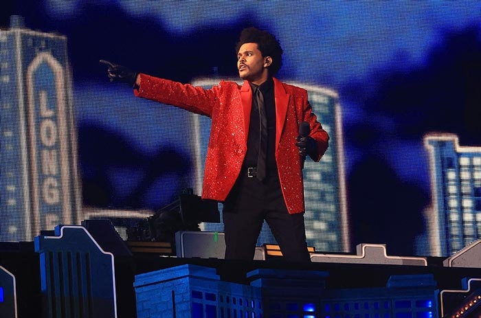The Weeknd Lights Up the Stadium During Super Bowl 2021 Halftime Show