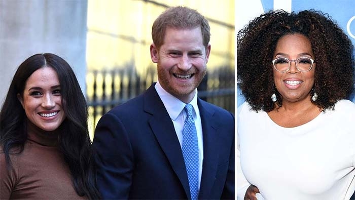 """Meghan Markle Calls Out Royal Family for """"Perpetuating Falsehoods"""" in Oprah Winfrey Interview Promo"""