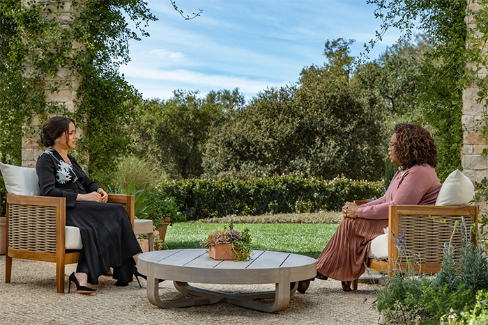 """Prince Harry says """"I was trapped"""" and Meghan Markle opens up about emotional lows in Oprah interview"""