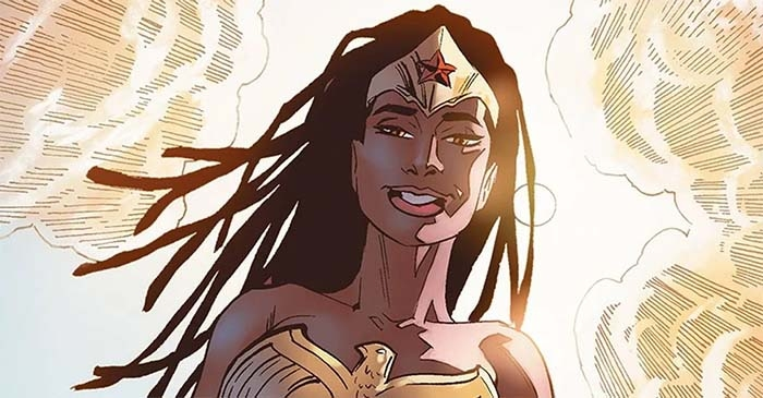 Queen Nubia: DC's Black Wonder Woman is Crowned By The Amazons