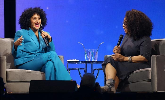 Oprah Winfrey and Tracee Ellis Ross announce new TV show about black hair