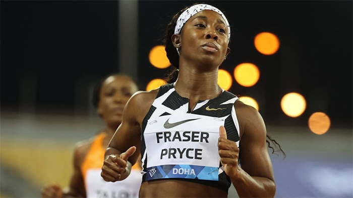 Shelly-Ann Fraser-Price just ran the fastest women's 100m in nearly 33 years