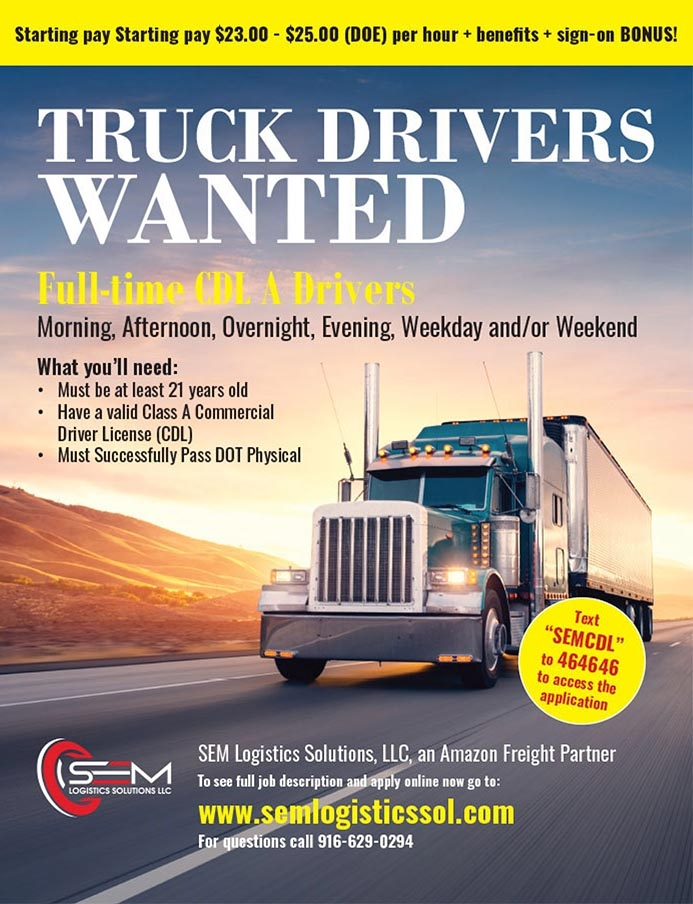 Truck Drivers Wanted! Apply Now – SEM Logistics Solutions