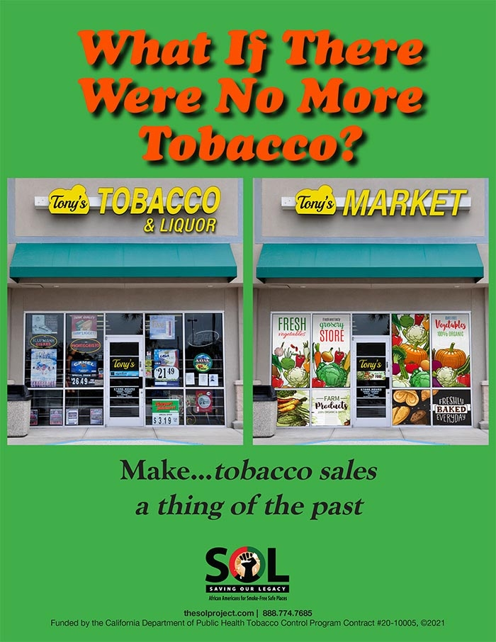 Imagine! What if there was a world without commercial tobacco?
