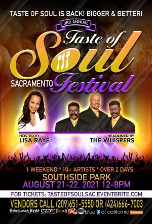 SAVE THE DATE for 3rd annual Taste of Soul Sacramento Festival