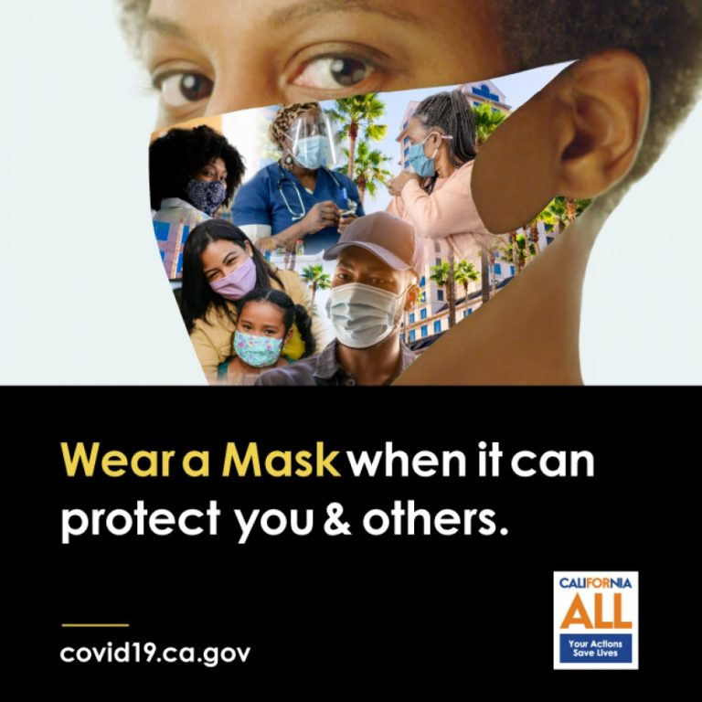 Wear a Mask When it can Protect You and Others