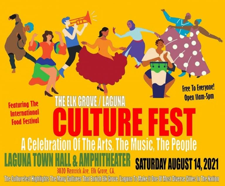 Don't miss the Laguna Culture Fest on Sat-Aug 14 in Elk Grove