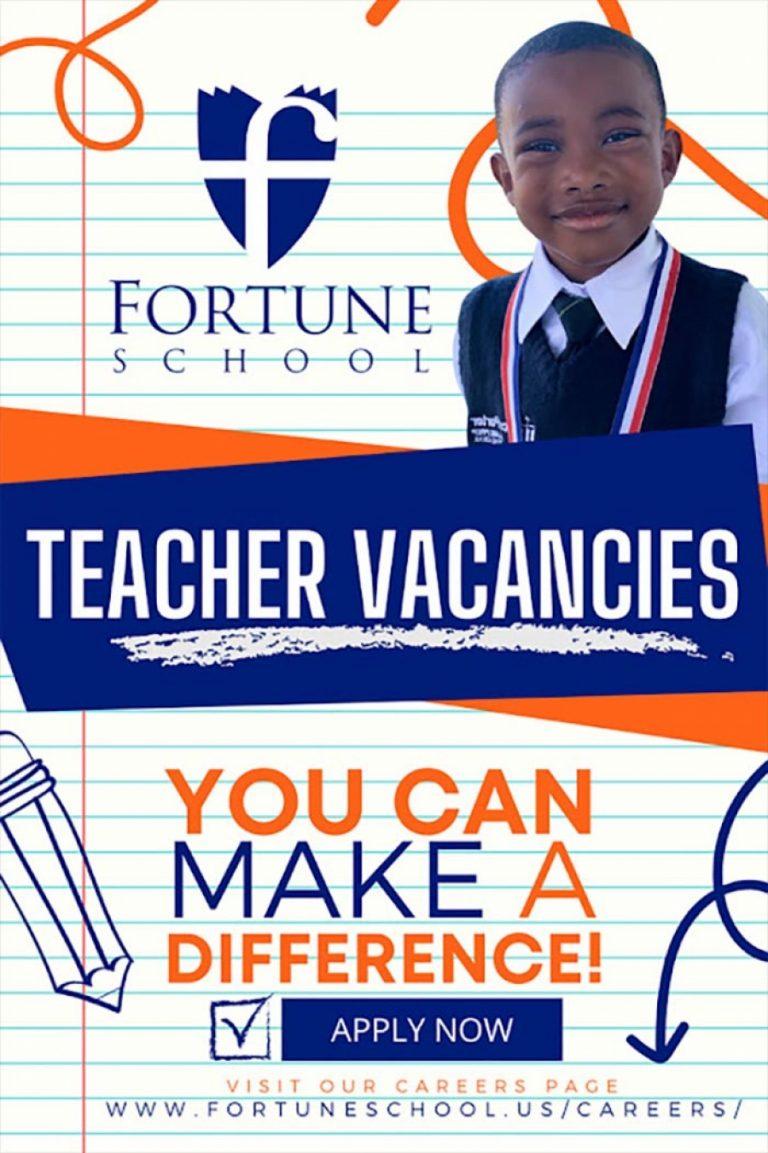 Join the Team – Teacher Vacancies at Fortune School