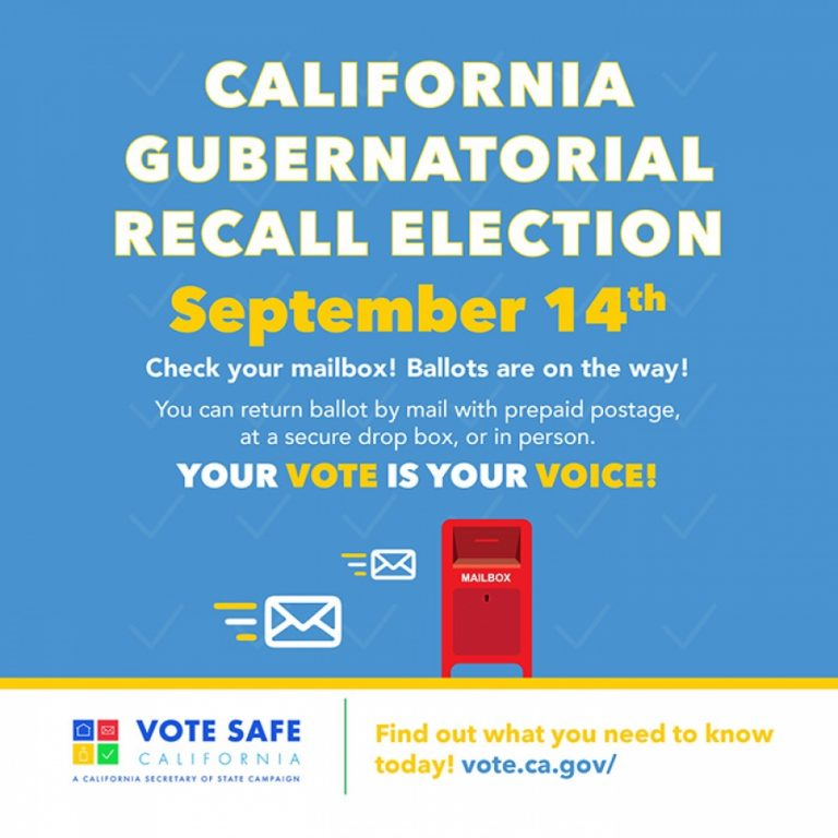 DID YOU KNOW: California Gubernatorial Recall Election is Sept 14