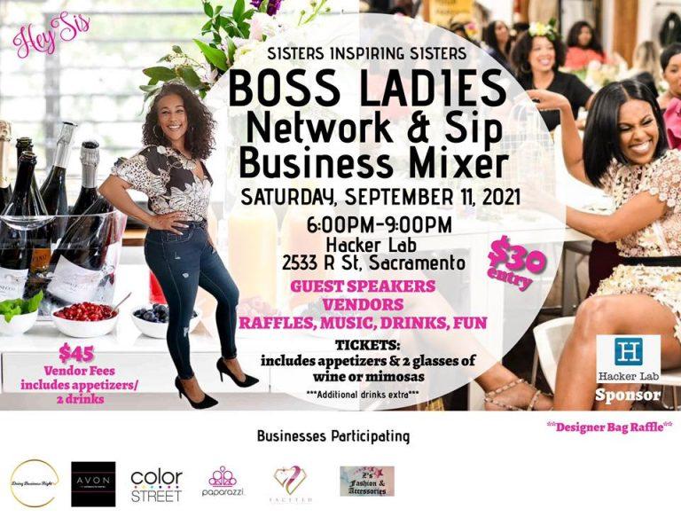 Boss Ladies Network & Sip Mixer