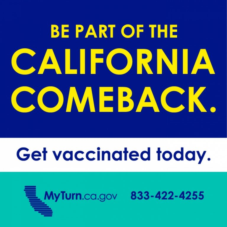 Be Part of the California Comeback