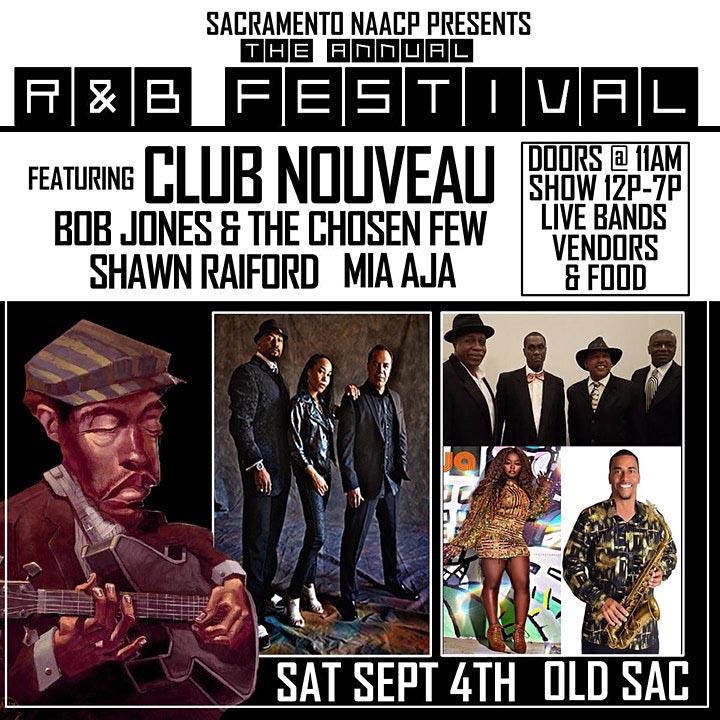 2021 R&B Festival in Old Sacramento