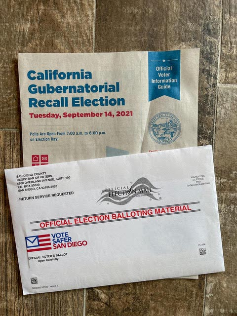 Five Things You Should Know About the Sept. 14 Recall Election