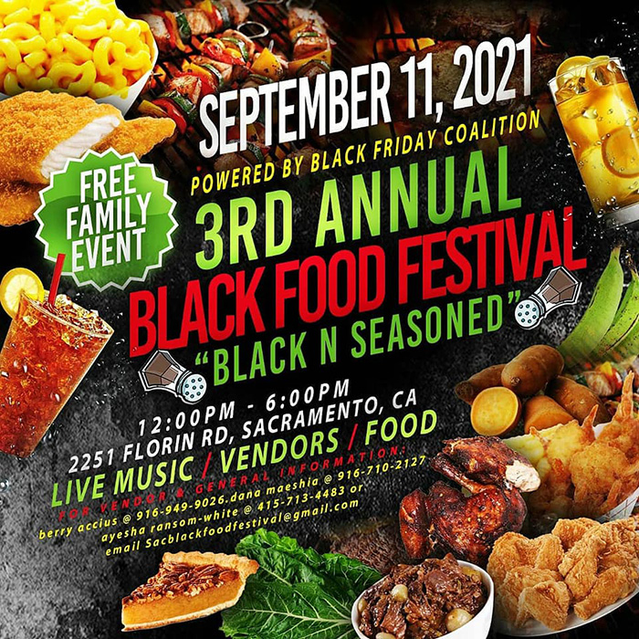 Don't miss the 3rd Annual Black Food Festival